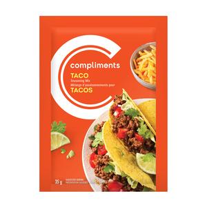 Compliments Taco Seasoning Mix 35 g