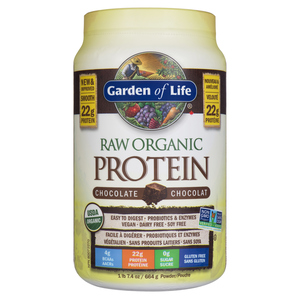 Garden of Life Organic Raw Chocolate Protein 664 g