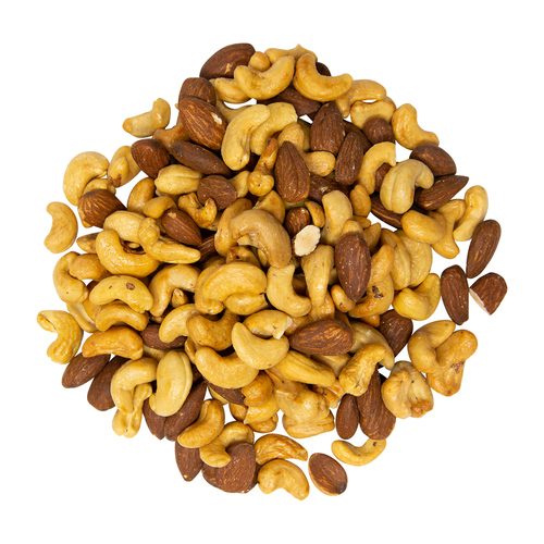 Farm Boy Nuts Dry Roasted Cashew Almond Blend Unsalted 325 g