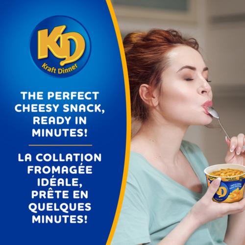 Kraft Dinner Macaroni & Cheese Snack Cup Triple Cheese 58 g