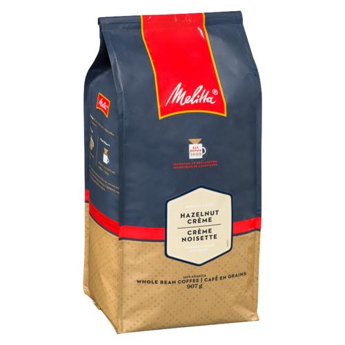 Melitta Whole Bean Coffee Hazelnut Cream 907 g