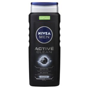 Nivea Men Active Clean Shower Gel 500 mL