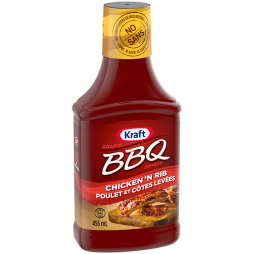 Kraft BBQ Sauce Chicken & Rib