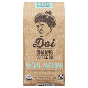 Doi Chang Whole Bean Coffee Social Medium 340 g