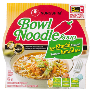 Nong Shim Kimchi Noodle Bowl 86 g