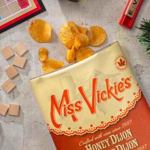Miss Vickie's Kettle Cooked Potato Chips Honey Dijon 200g