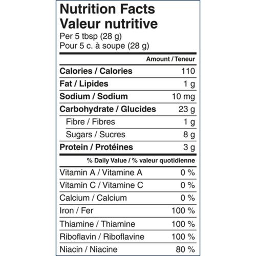 Gerber Organic Baby Cereal Wheat & Wholegrain Oatmeal, Banana & Raspberry 208 g