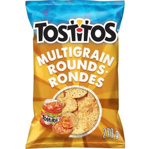 Tostitos Tortilla Chips Multigrain Rounds 270 g