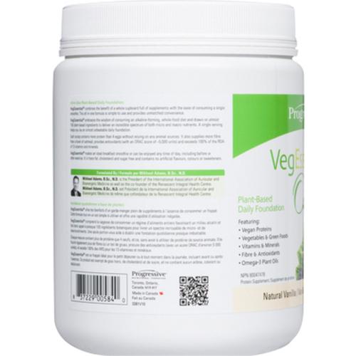 Progressive VegEssential Natural Vanilla 360 g