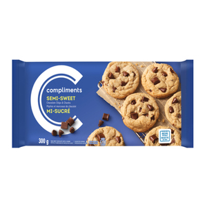 Compliments Semi-Sweet Chocolate Chips & Chunks 300 g