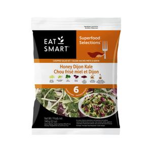 Eat Smart Salad Kit Honey Dijon Kale Mix 340 g