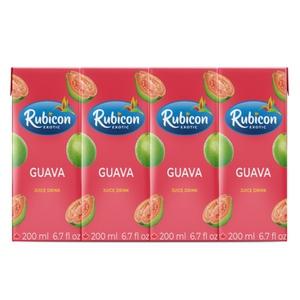 Rubicon Drink Guava 4 x 200 ml