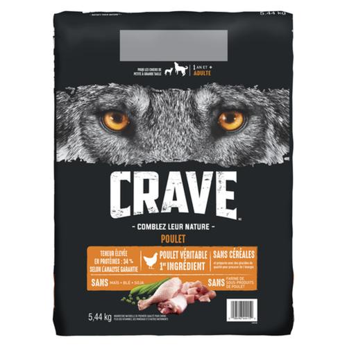 Crave Chicken Dry Dog Food 5.44 kg