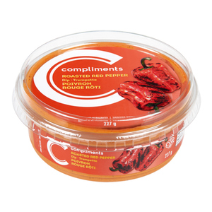 Compliments Dip Roasted Red Pepper 227 g