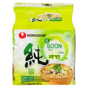 Nong Shim Noodle Soup Veggie 448 g