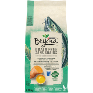 Purina Beyond Grain Free Natural Dry Cat Food Ocean Whitefish & Egg 2.26 kg