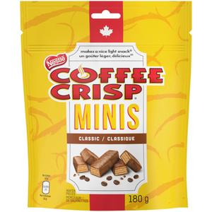 Nestlé Chocolate Bars Coffee Crisp Minis 180 g
