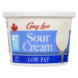 Gay Lea Low Fat 3% Sour Cream 500 ml