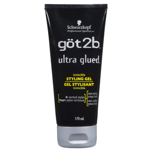 Got2B Ultra Glued Invincible Styling Gel 170 g