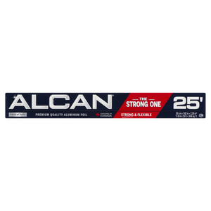 Alcan Aluminum Foil Wrap 12 inches x 25 feet