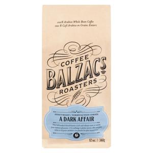 Balzac's Coffee Roasters Coffee Beans A Dark Affair 340 g