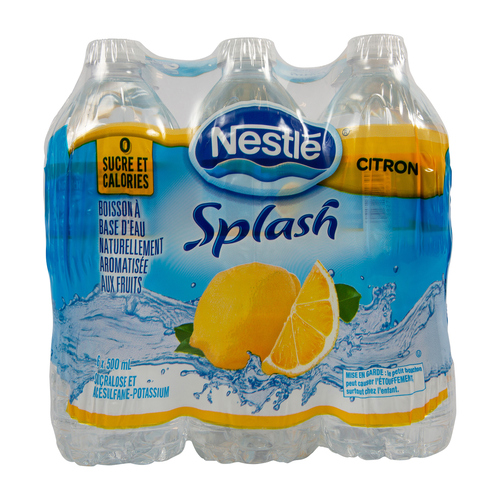 Nestlé Splash Lemon Water 500 mL