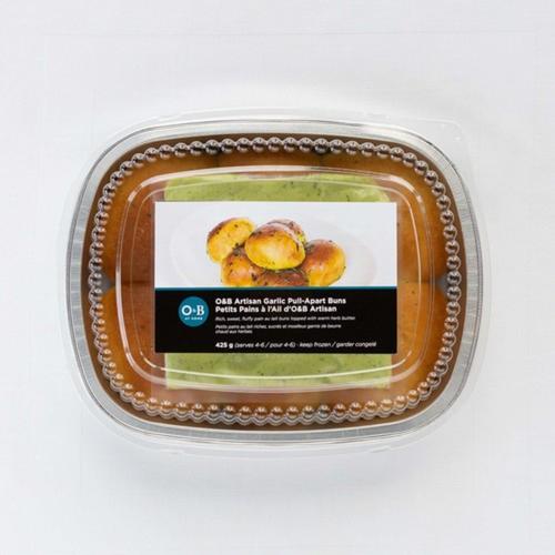 Oliver & Bonacini Artisan Garlic Pull-Apart Buns 350 g - Serves 4-6