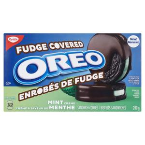 Christie Oreo Fudge Covered Mint Crème 280 g