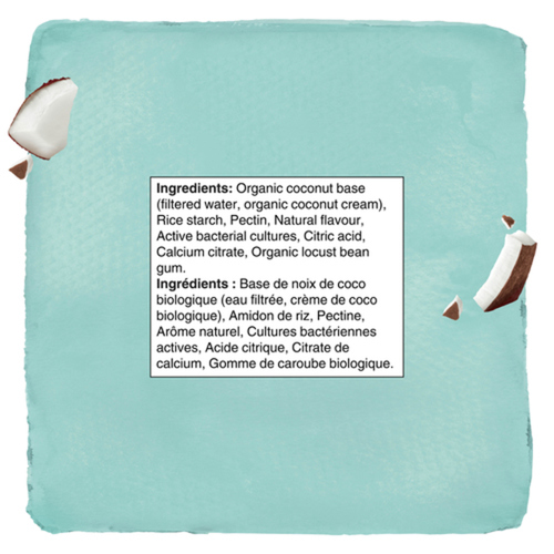 Silk Gluten-Free Unsweetened Coconut Yogurt Style Vanilla 680 g