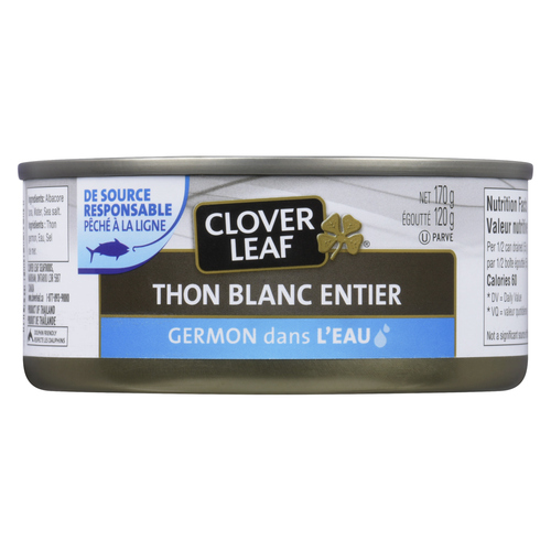 Clover Leaf  Solid White Tuna Albacore In Water 170 g