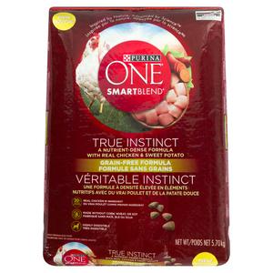 Purina ONE Smartblend Grain Free Chicken & Sweet Potato Dog Food 5.7 kg