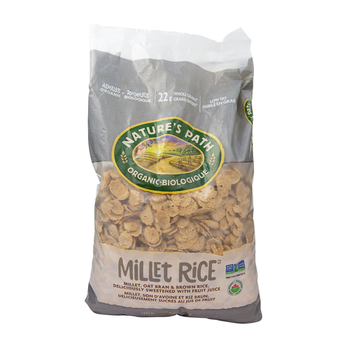 Nature's Path Organic Millet Rice Flakes Cereal 907 g