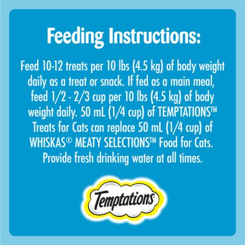 Temptations Adult Cat Treats Savoury Salmon Flavour 180 g