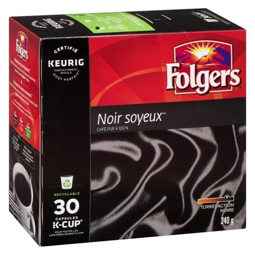 Folgers Coffee Black Silk 30 K-Cupss 240 g