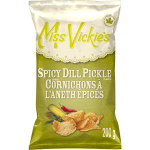 Miss Vickie's Chips Spicy Dill Pickle 200 g