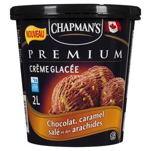 Chapman's Premium Chocolate Salted Caramel Ice Cream 2 L