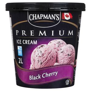 Chapman's Premium Black Cherry Ice Cream 2 L