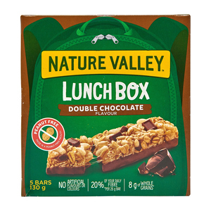 Nature Valley Lunch Box Chewy Double Chocolate Granola Bars 130 g