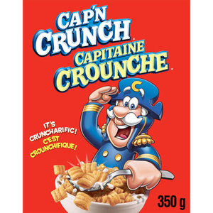 Cap'N Crunch Cereal 350 g