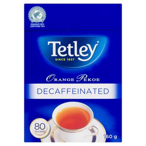 Tetley Tea Decaf Orange Pekoe 80 EA