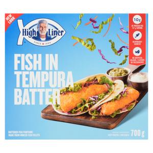 High Liner Batter Family Favourites Fish in Tempura 700 g