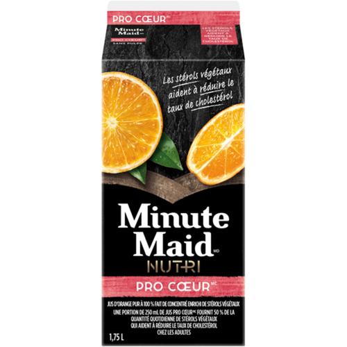 Minute Maid Juice Nutri Heartwise 100% Orange 1.75 L
