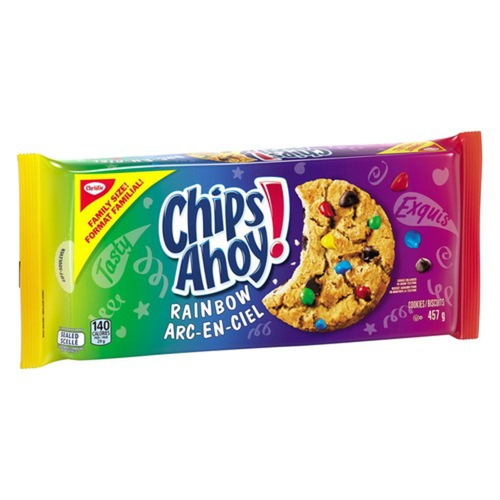 Christie Chips Ahoy! Rainbow Cookies 457 g
