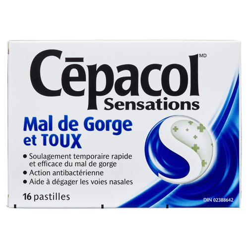Cepacol Lozenges Sore Throat & Cold 16