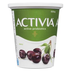 Activia Yogurt Cherry 650 g