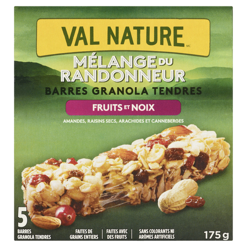 Nature Valley Trail Mix Chewy Fruit & Nut Granola Bar 5 x 35 g