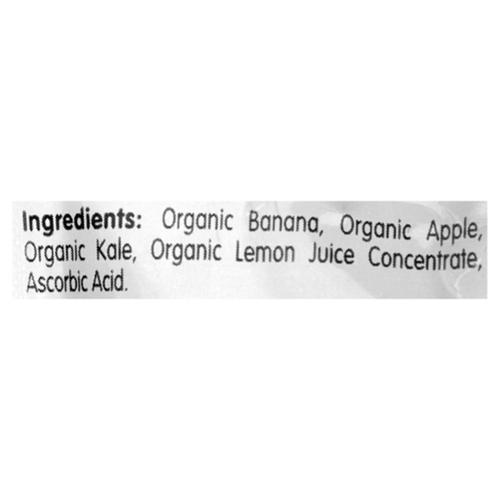 Baby Gourmet Organic Baby Food Banana Apple Kale Blend 128 ml