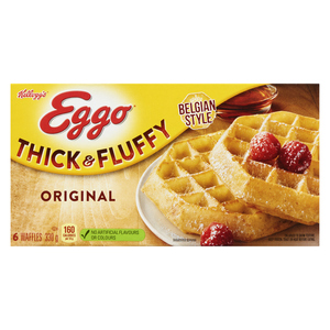 Kellogg's Eggo Thick & Fluffy Waffles 330 g