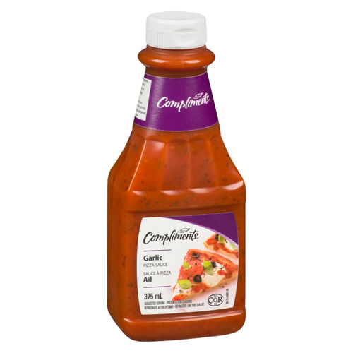 Compliments Pizza Sauce Garlic 375 mL