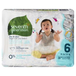 Seventh Generation Stage 6 Diapers 20 EA